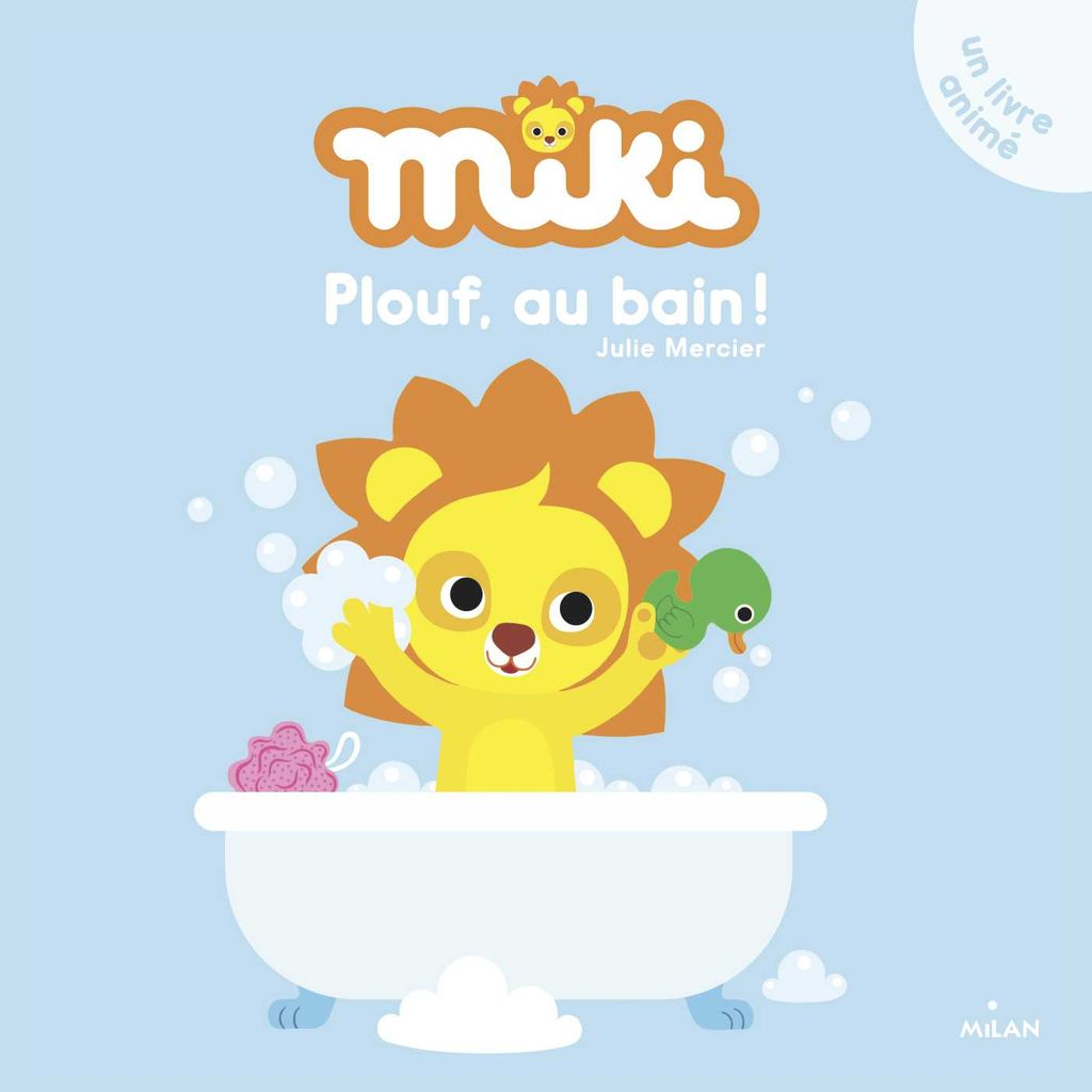 «Miki – Plouf, au bain!» cover