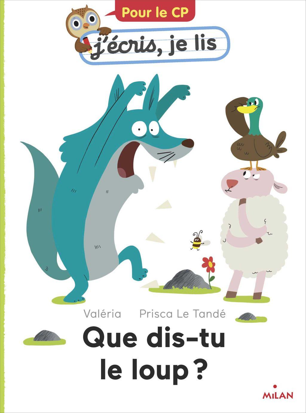 Couverture de «Que dis-tu, le loup?»