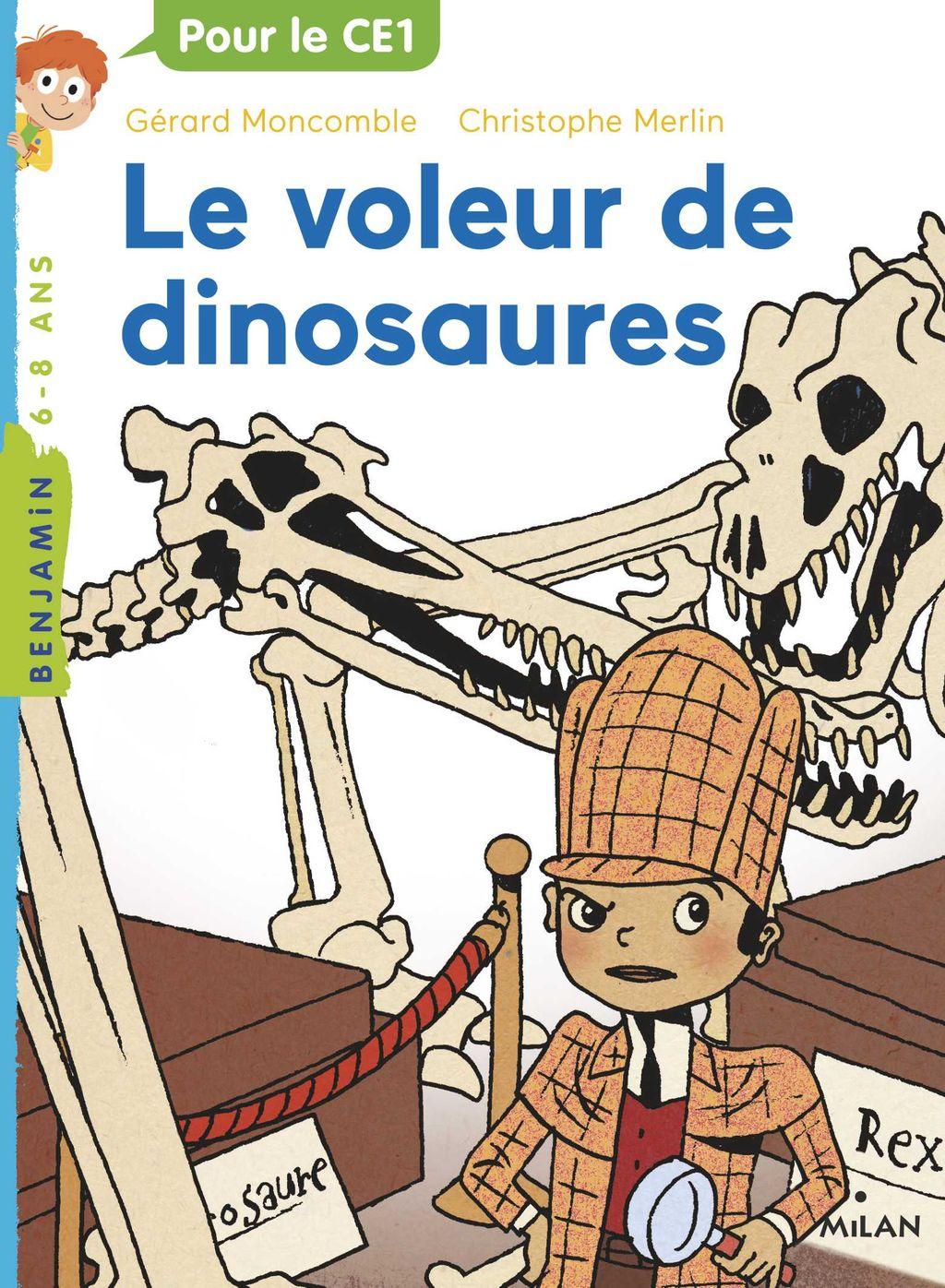 Couverture de «Le voleur de dinosaures»