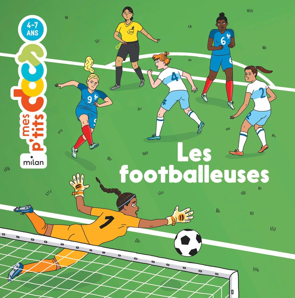 « Les footballeuses » cover