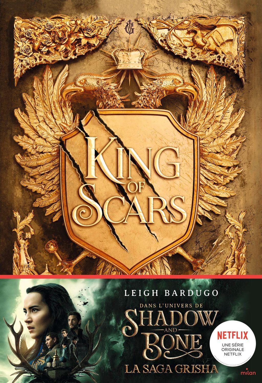 Couverture de «King of scars»