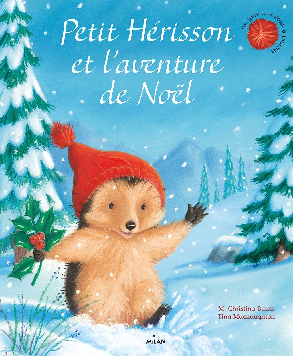 Couverture de «Petit Hérisson et l'aventure de Noël»