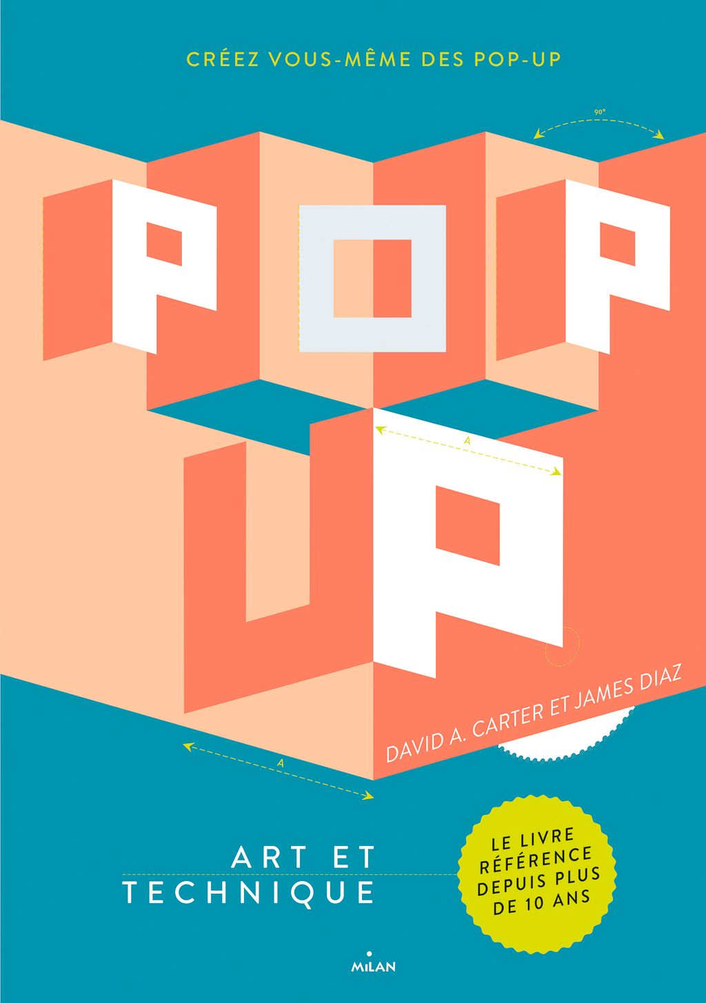 Couverture de « Pop-up, art et technique »