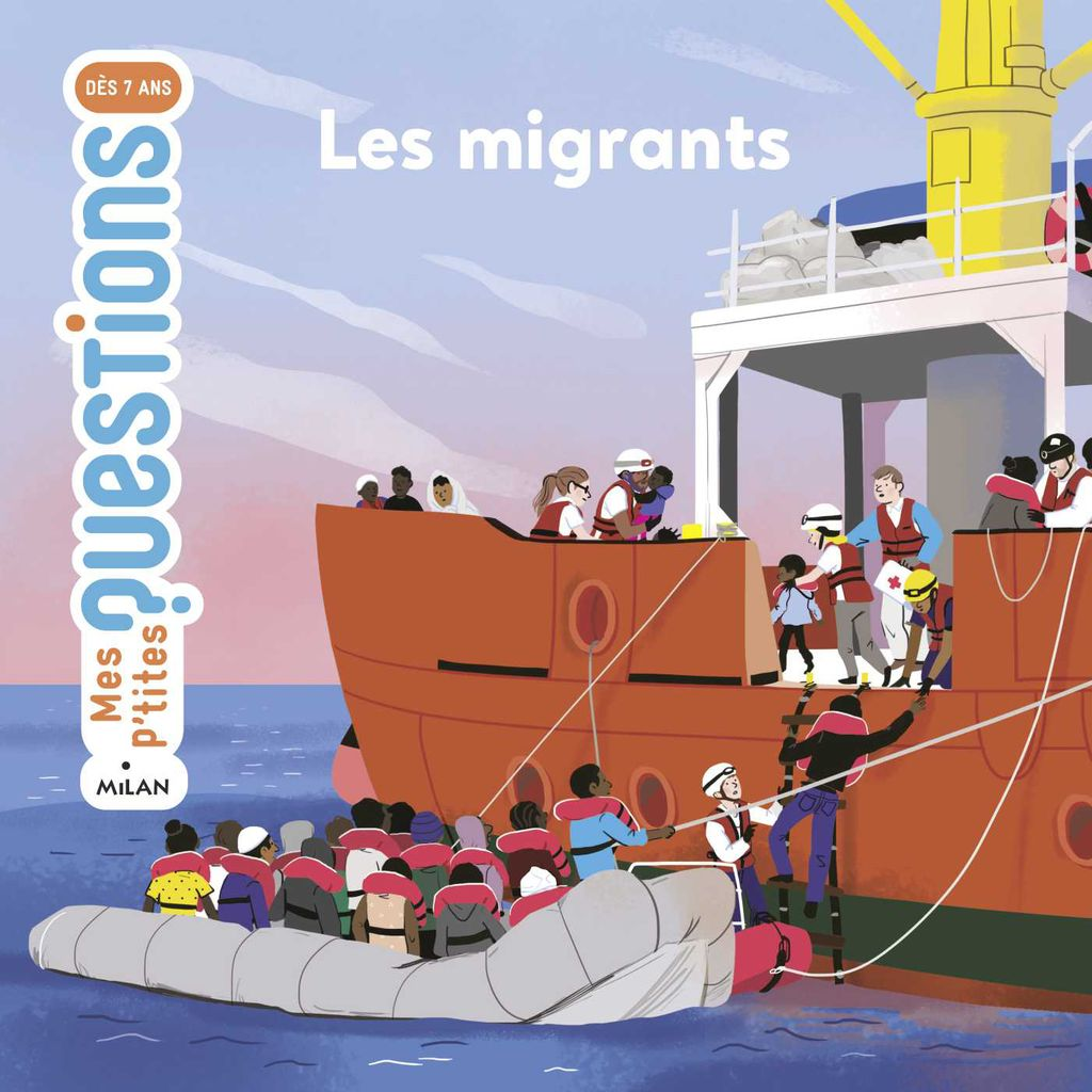 Couverture de « Les migrants »