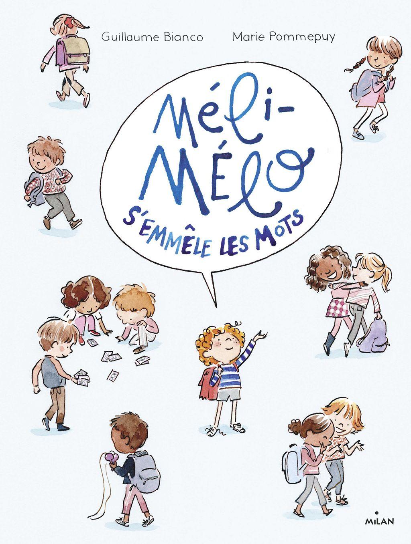 Couverture de «Méli Mélo s'emmêle les mots»