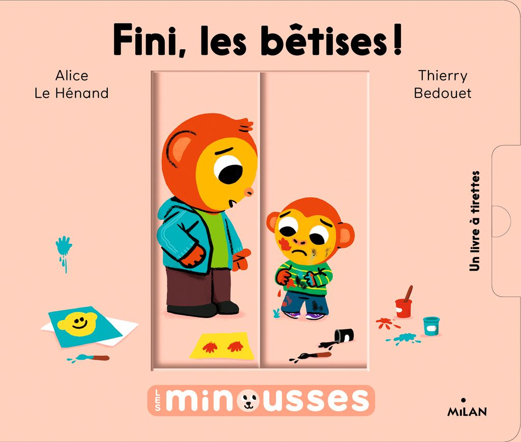 Couverture de «Les Minousses – Fini, les bêtises!»