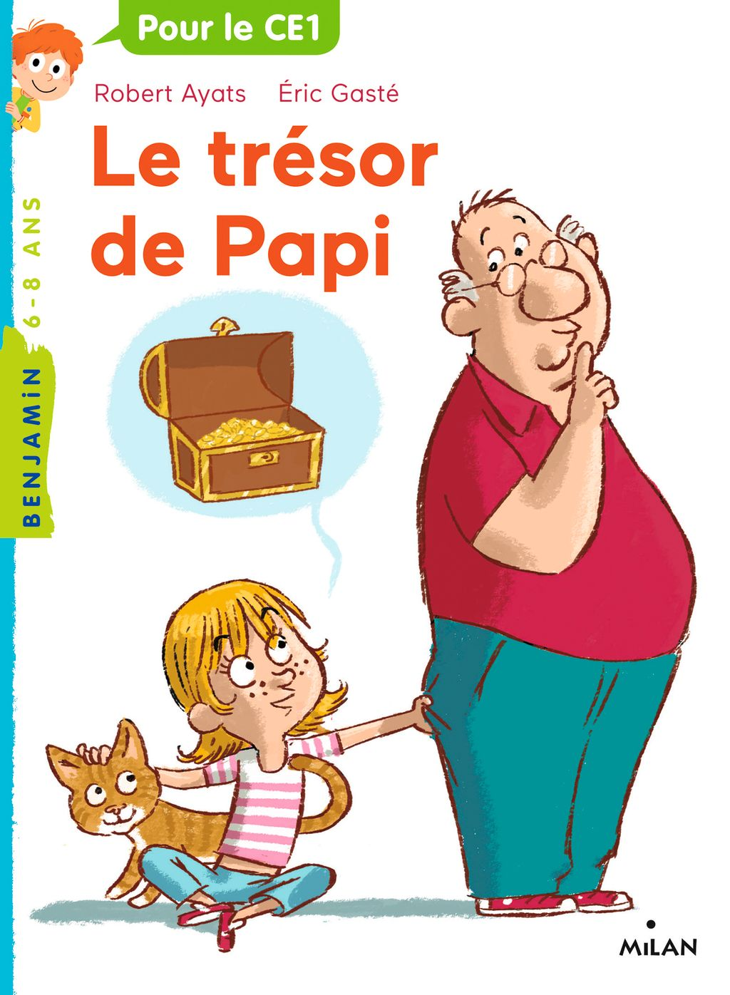 Couverture de «Le trésor de Papi»