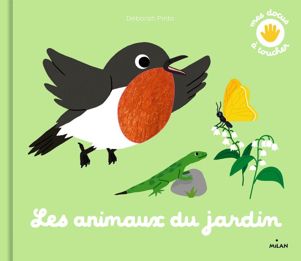 «Les animaux du jardin» cover