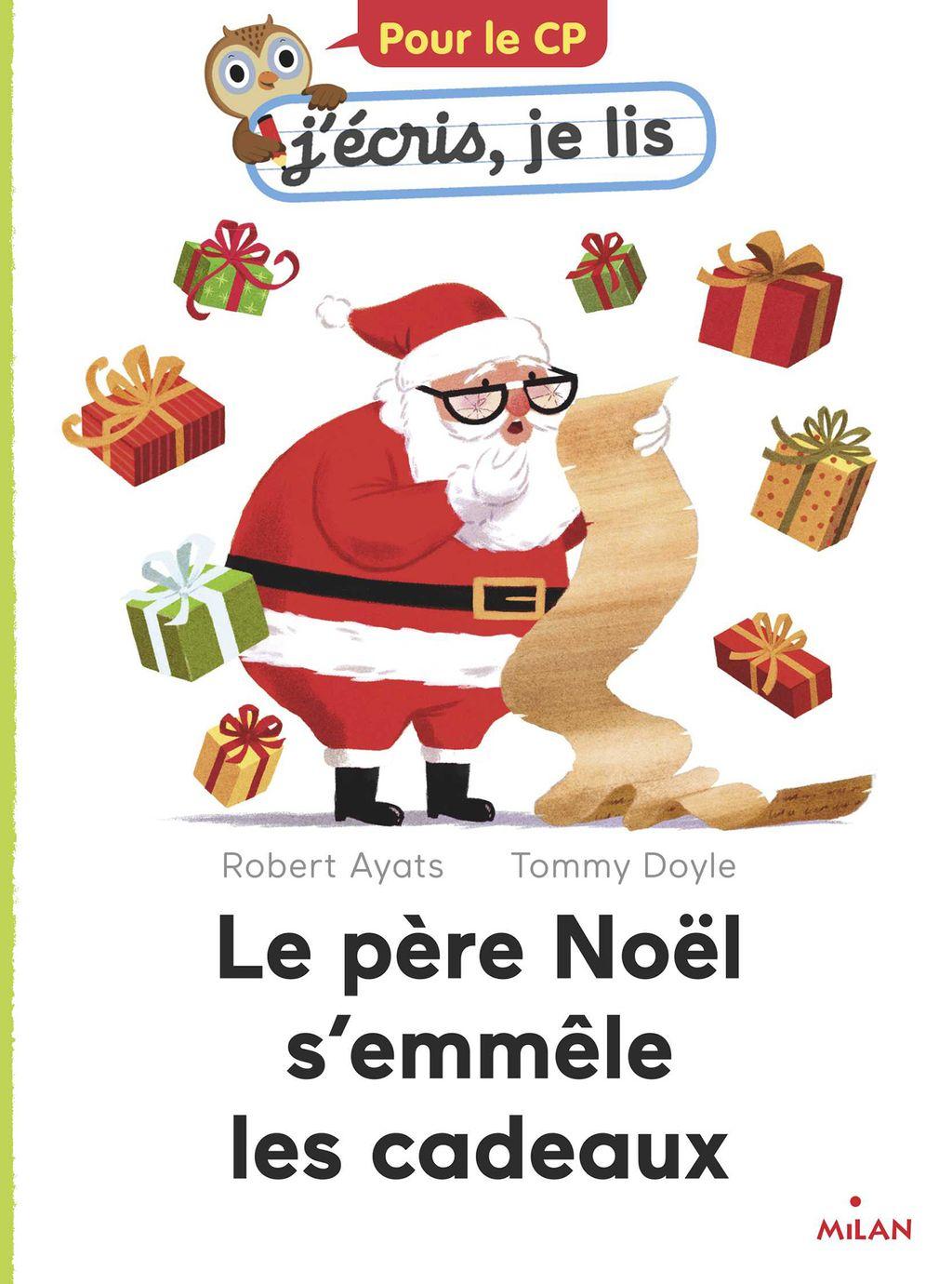 Couverture de «Le père Noël s'emmêle les cadeaux»