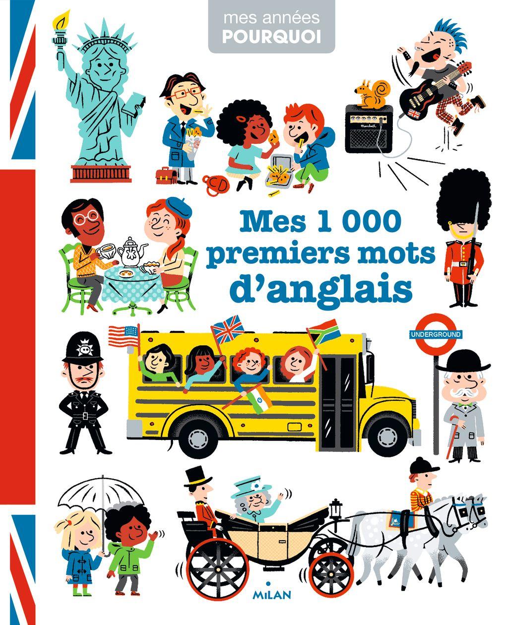 Couverture de «Mes 1 000 premiers mots d'anglais»