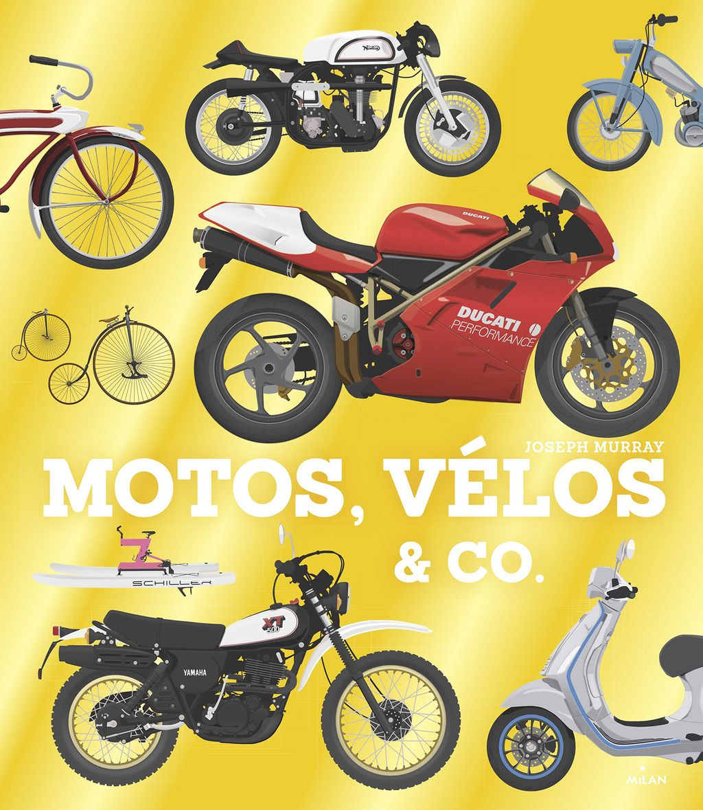 Couverture de « Motos, vélos & co »