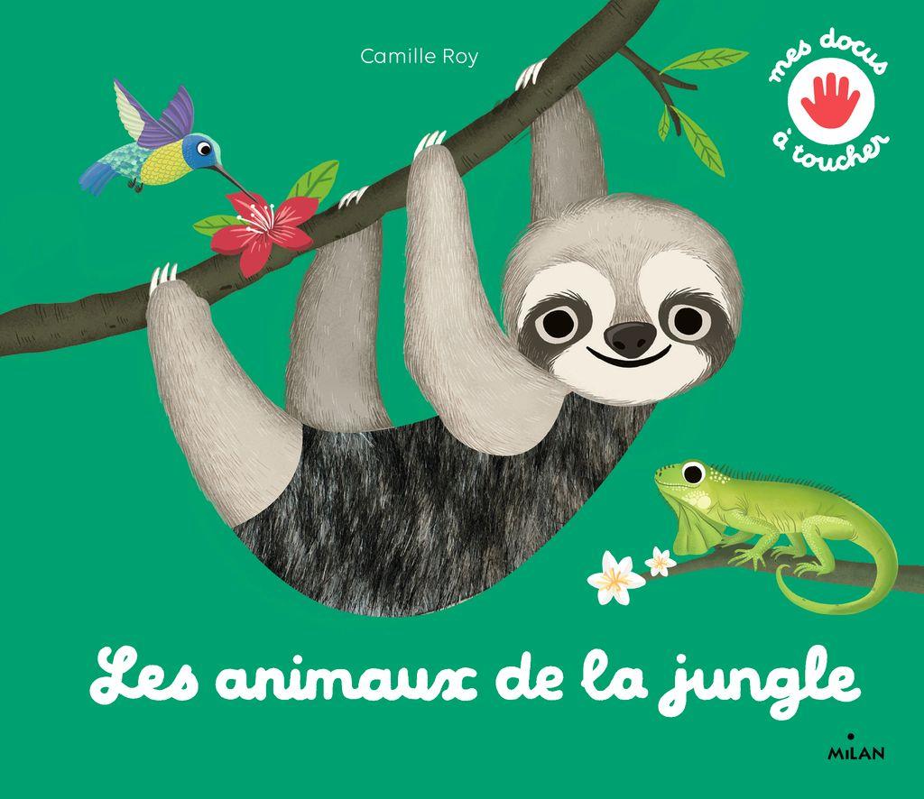 Couverture de «Touch and Explore – Jungle Animals»