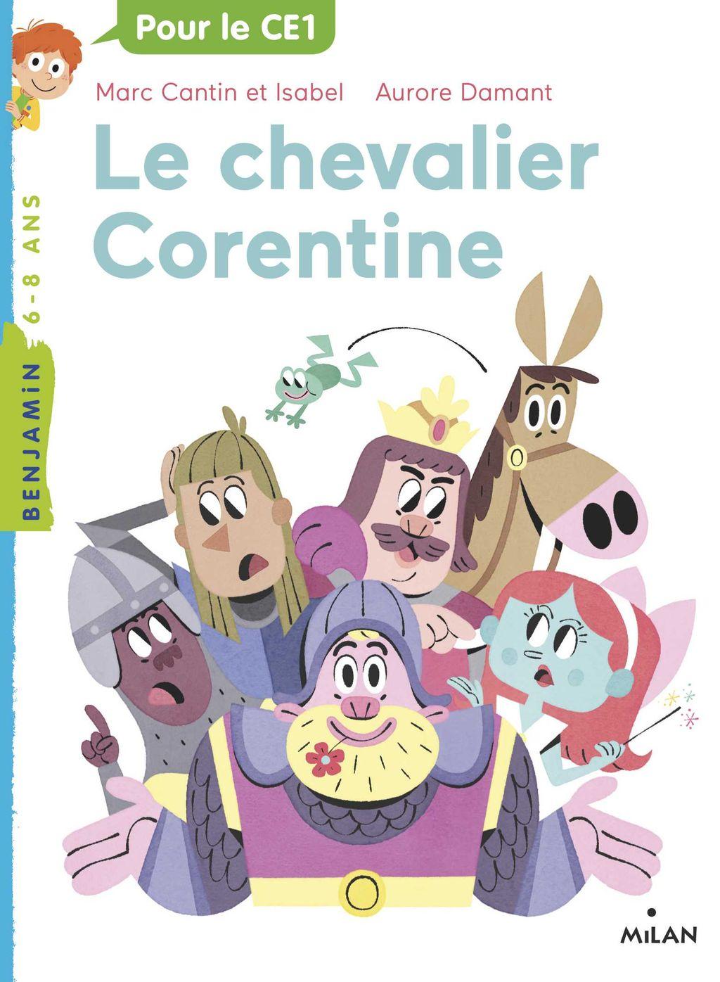 Couverture de «Le chevalier Corentine»