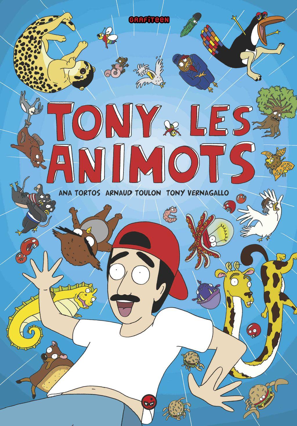 Couverture de «Tony les animots»
