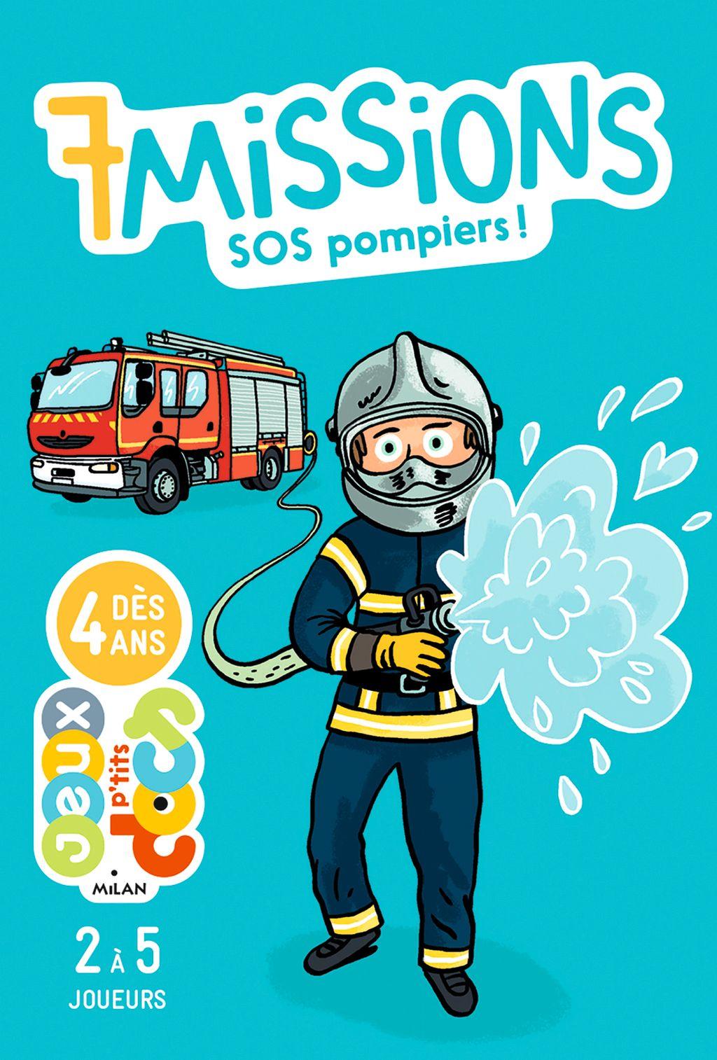 Couverture de «7missions – SOS pompiers !»