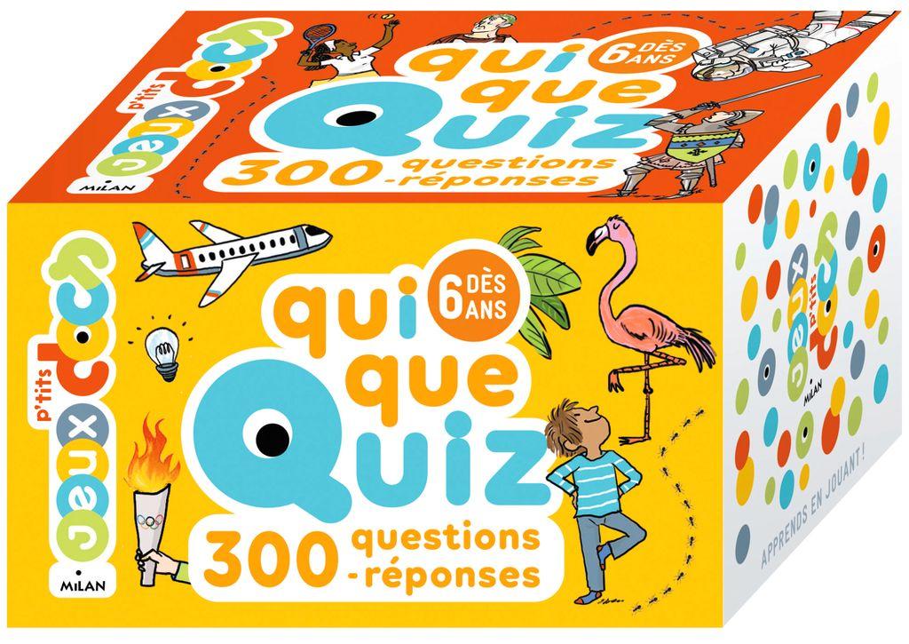 Couverture de «QuiQueQuiz – 300 questions-réponses»