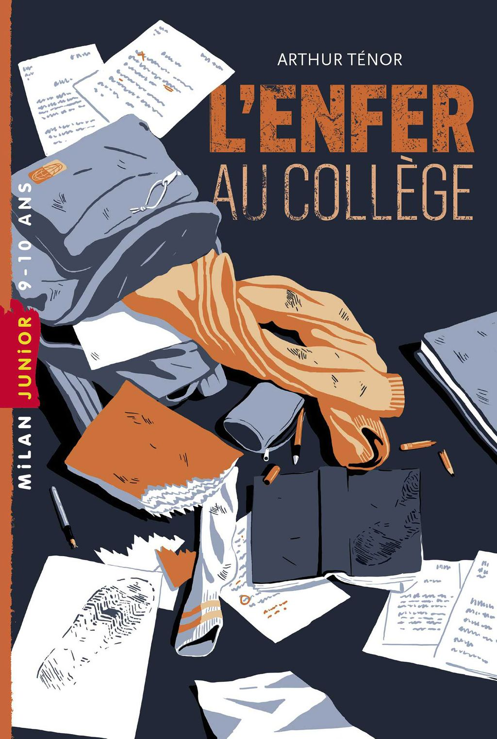 Couverture de «L'enfer au collège»