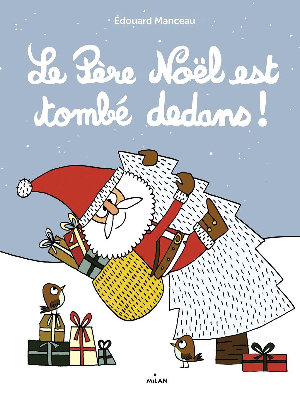 Couverture de «Le père Noël est tombé dedans !»