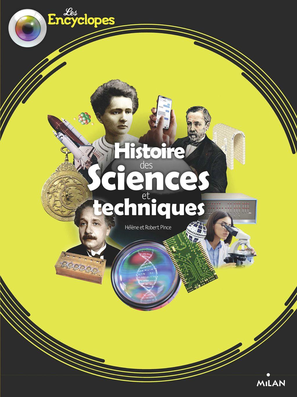 Couverture de «Histoire des sciences et techniques»