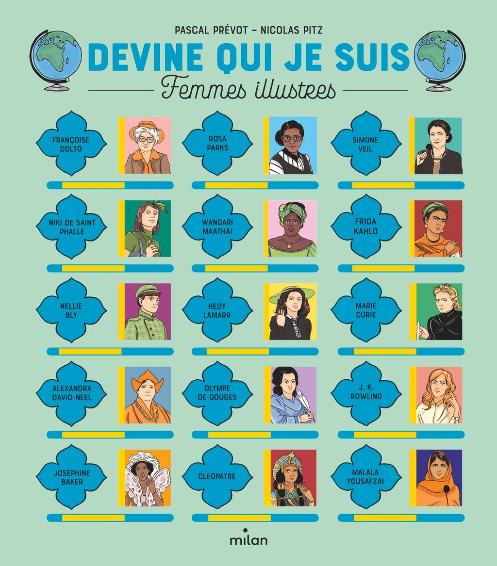 Couverture de «Devine qui je suis – Femmes illustres»