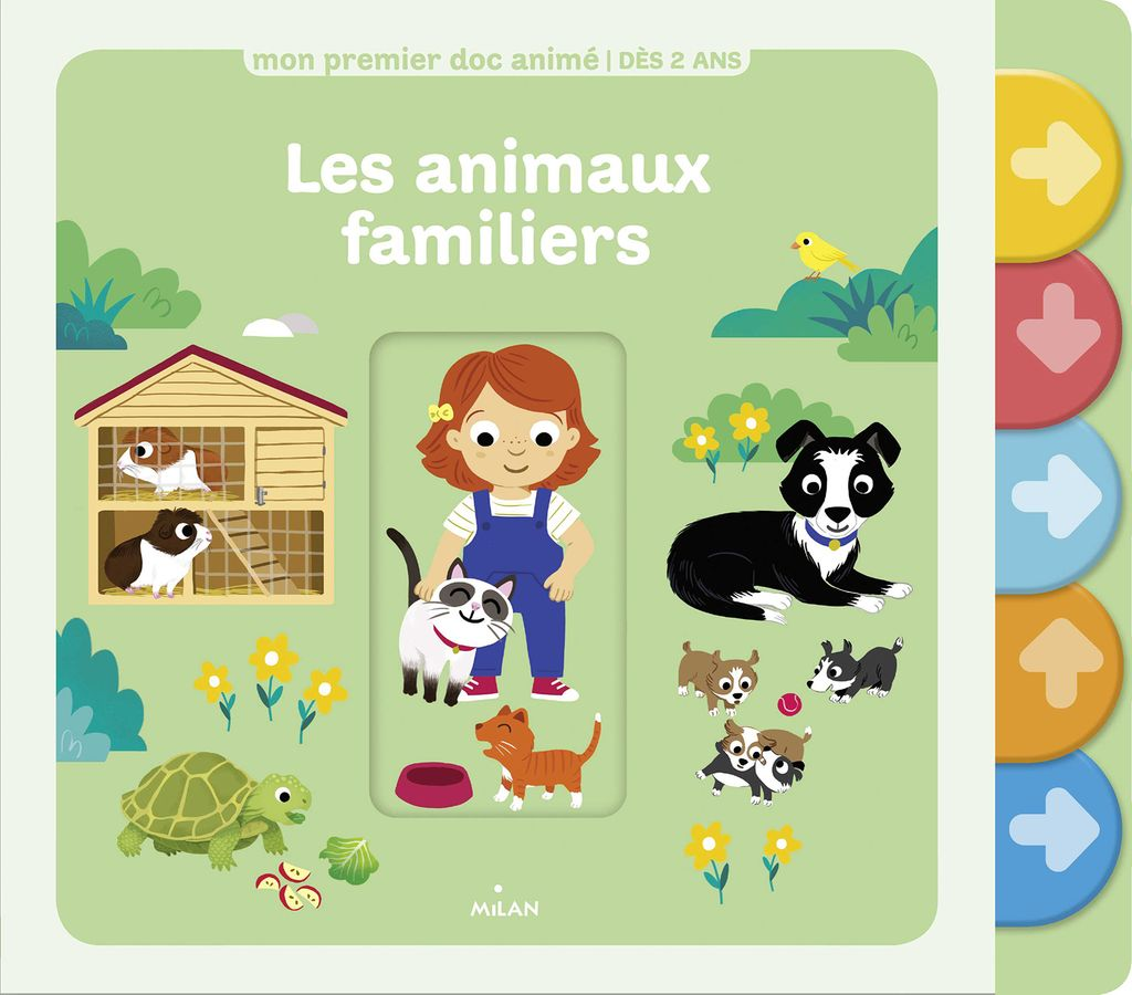 «Les animaux familiers» cover