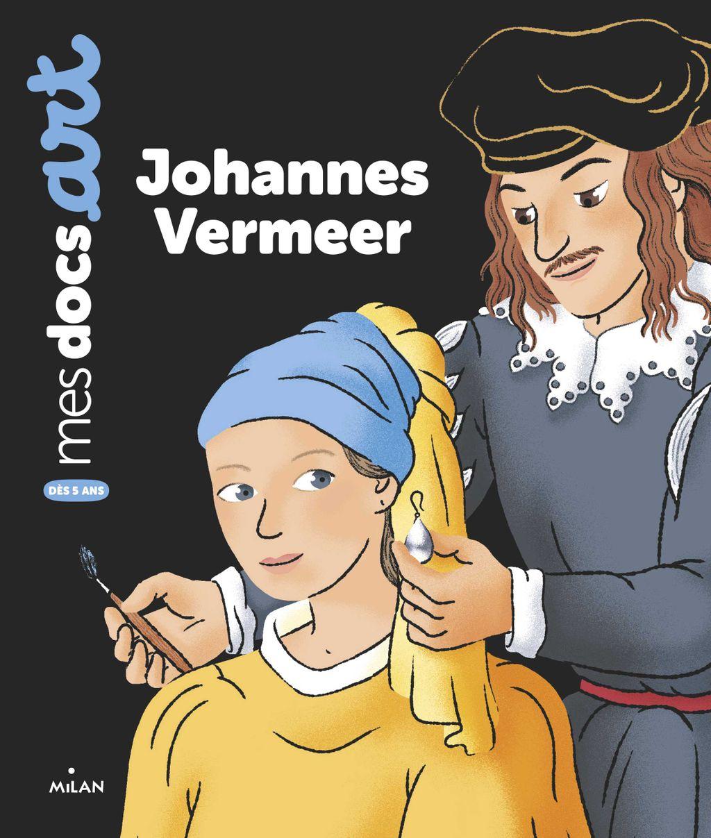 Couverture de «Johannes Vermeer»
