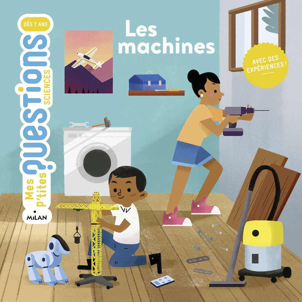 Couverture de « Les machines »