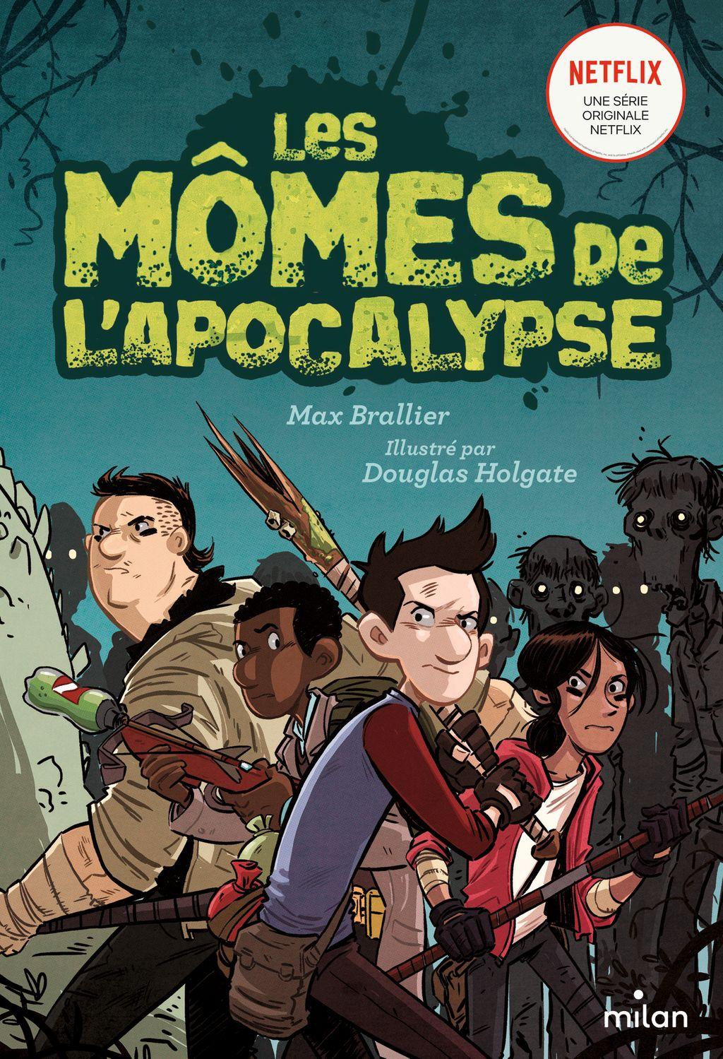 Couverture de «Les mômes de l'apocalypse»