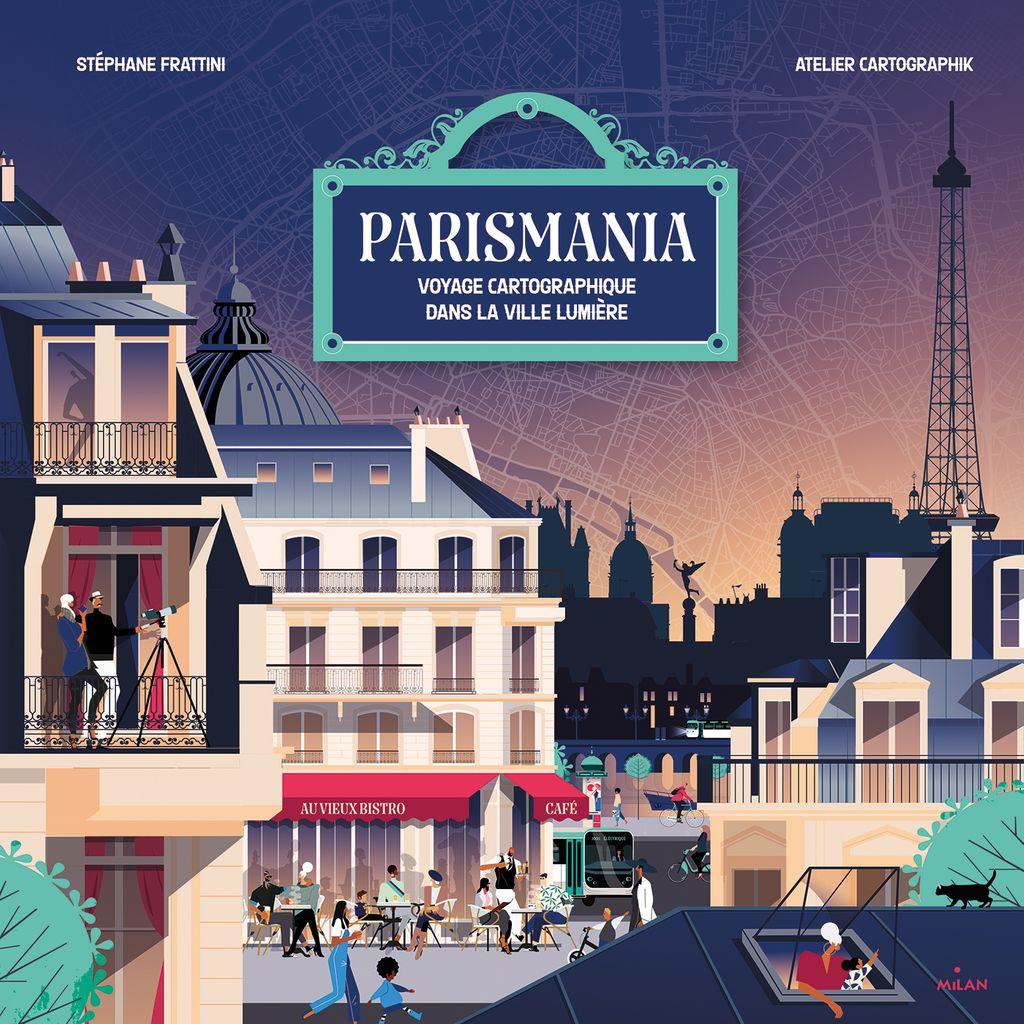 Couverture de «Parismania»