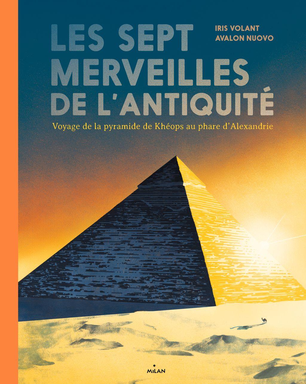 Couverture de «Les Sept Merveilles de l'Antiquité»