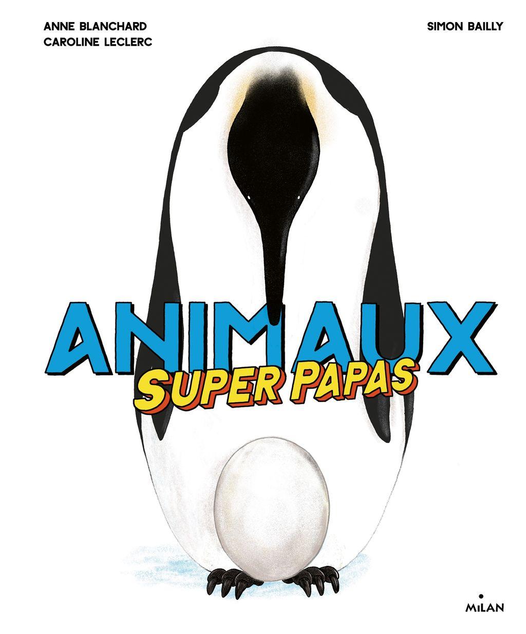 Couverture de «Animaux superpapas»