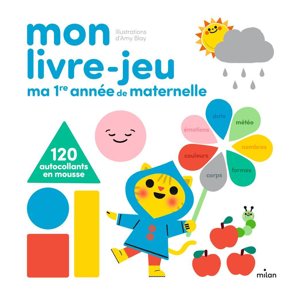 Couverture de «Mon livre-jeu: Ma première année de maternelle»
