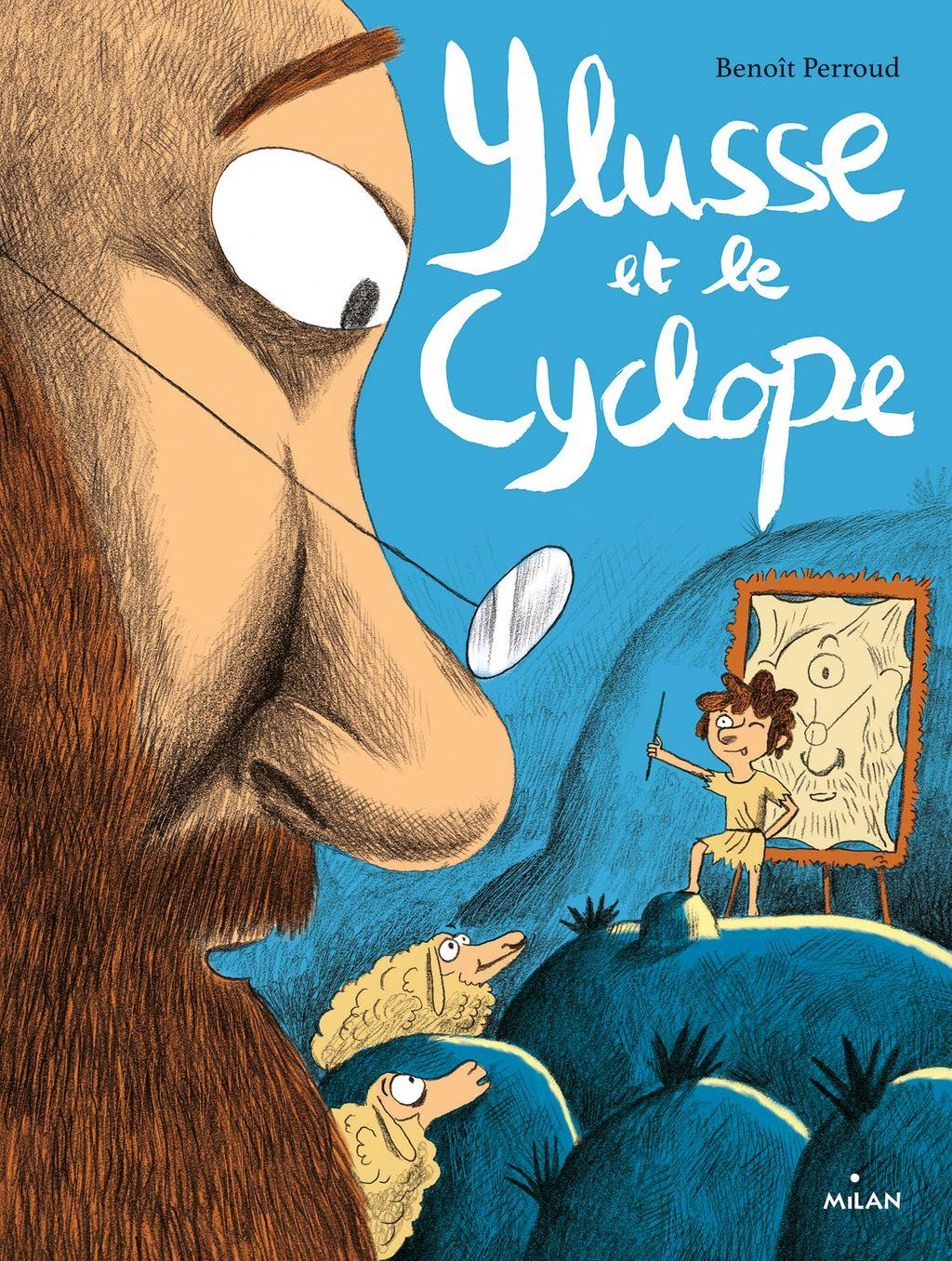 Couverture de «Ylusse et le Cyclope»