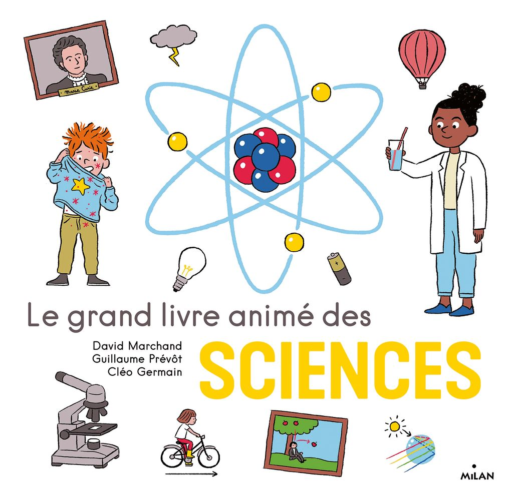 Couverture de «Le grand livre animé des sciences»