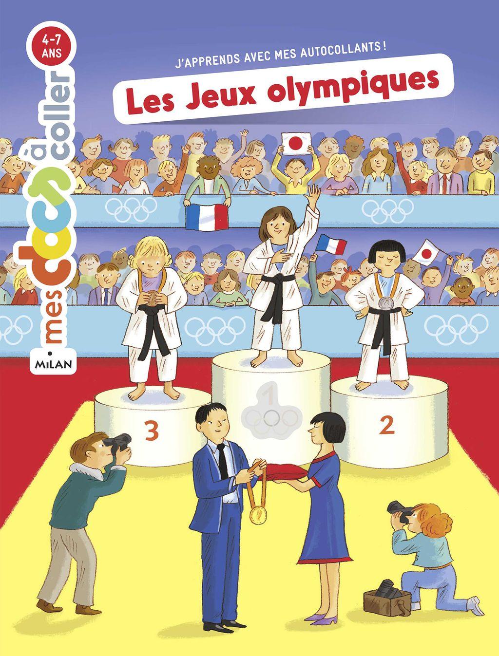Couverture de «Les Jeux olympiques»