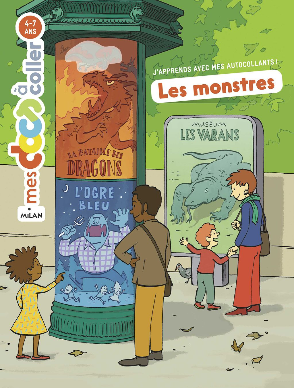 «Les monstres» cover