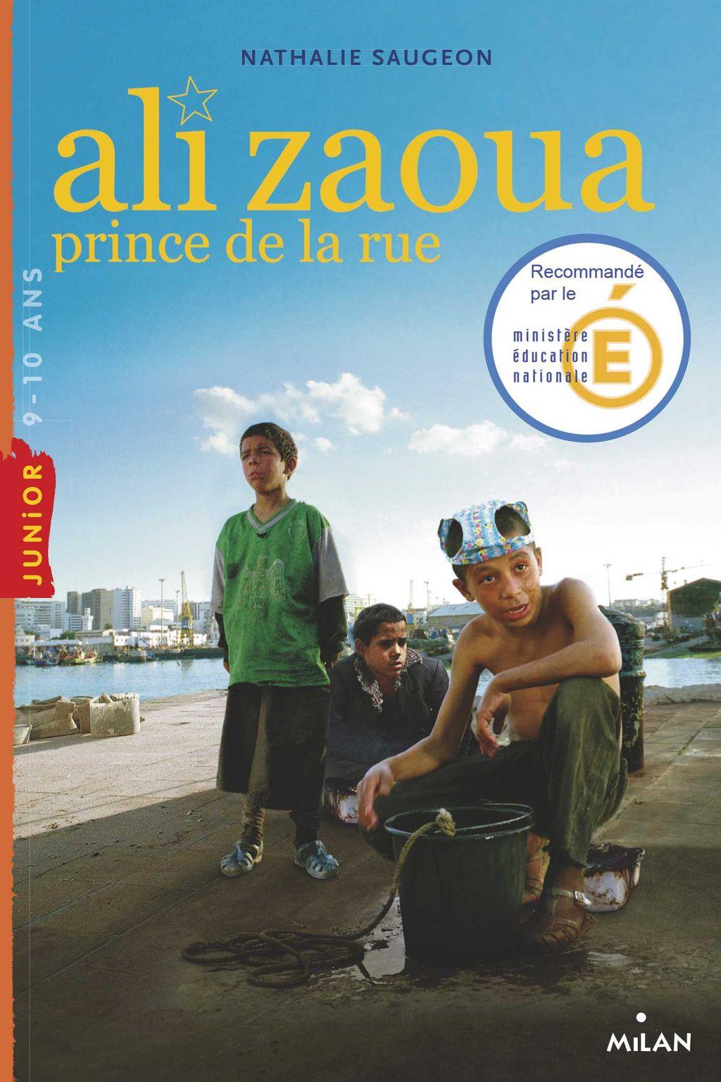 Couverture de «Ali Zaoua, prince de la rue»