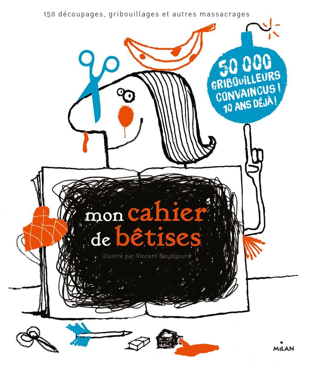 «Mon cahier de bêtises NE» cover