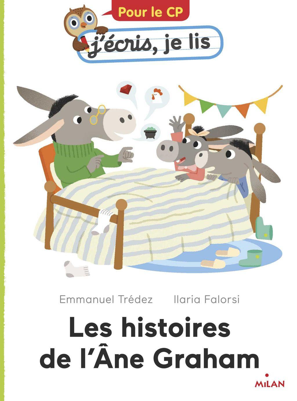 «Les histoires de l'âne Graham» cover