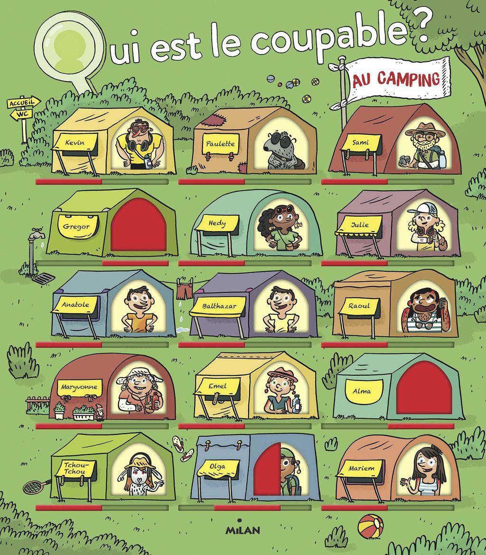 Couverture de «Qui est le coupable au camping?»