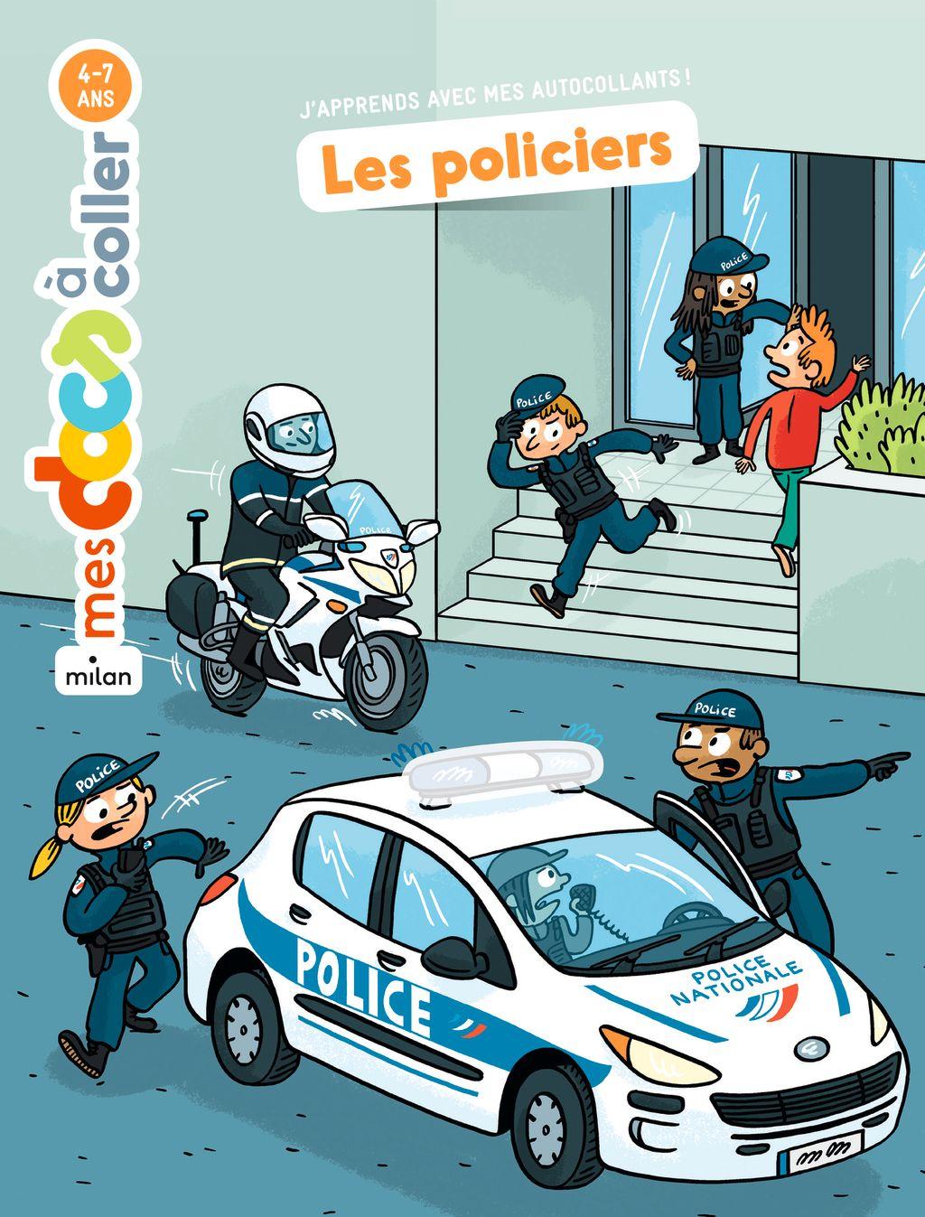 «Les policiers» cover