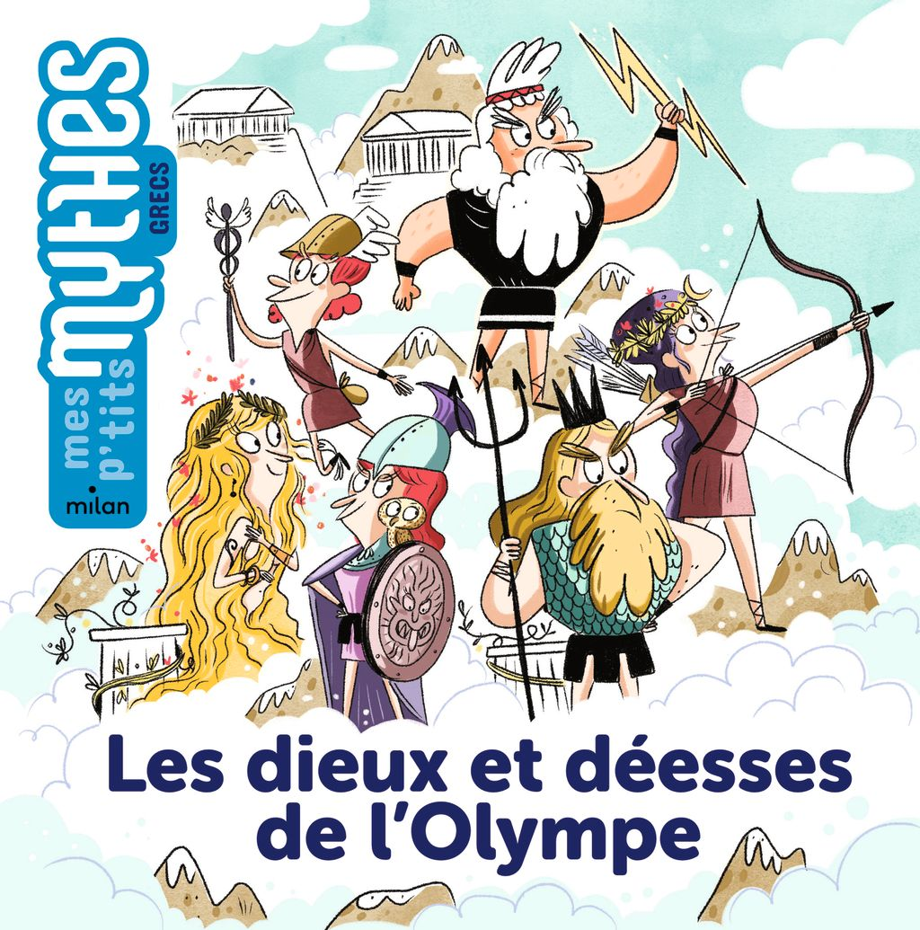 Couverture de «Les dieux et déesses de l'Olympe»