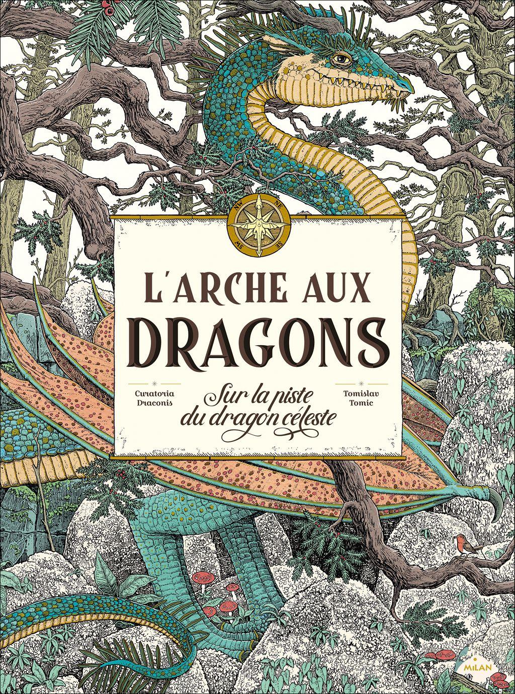 Couverture de «L'arche aux dragons – Sur la piste du dragon céleste»