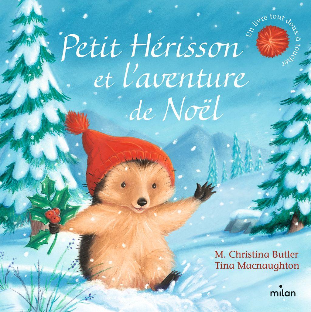 Couverture de «Petit Hérisson et l'aventure de Noël (tout-carton)»