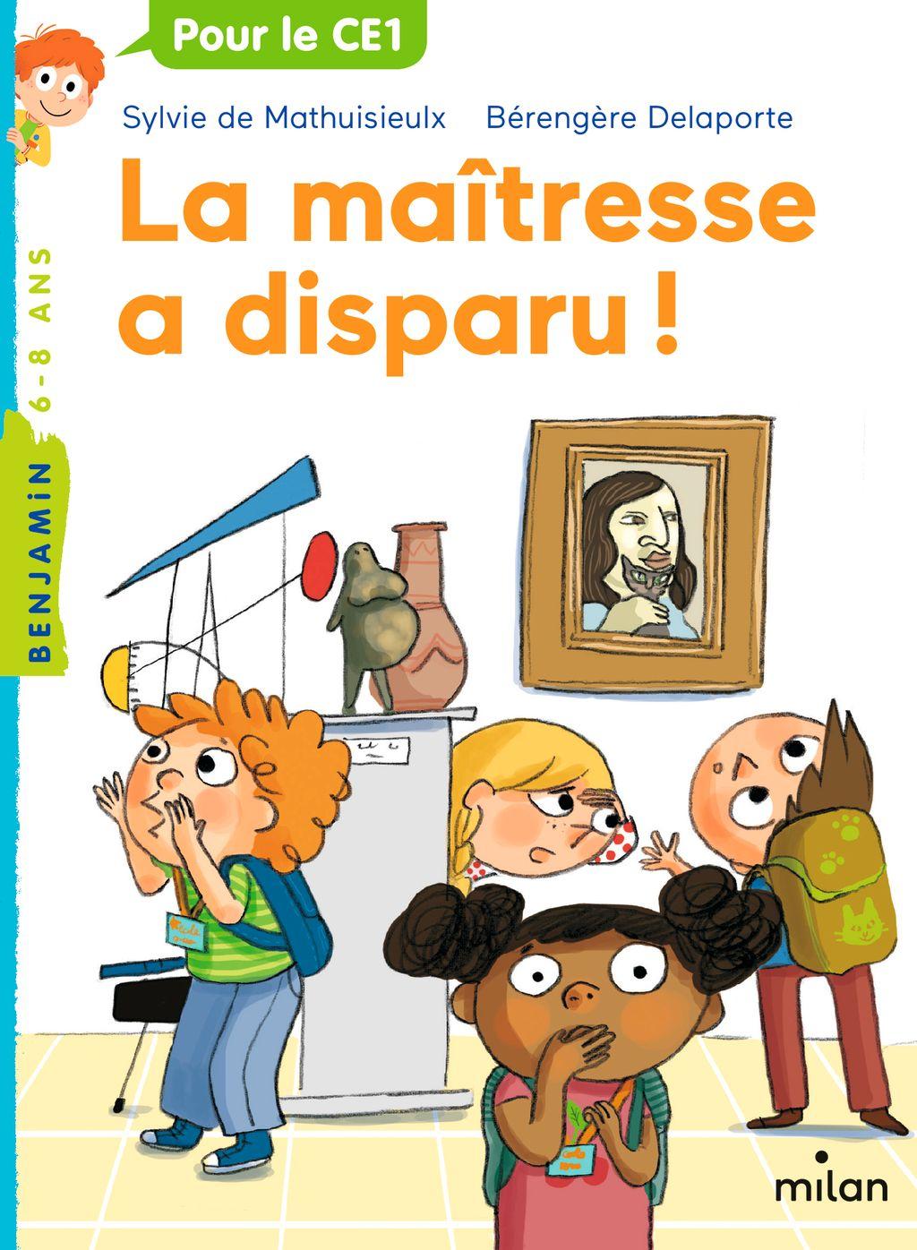 «La maîtresse a disparu!» cover