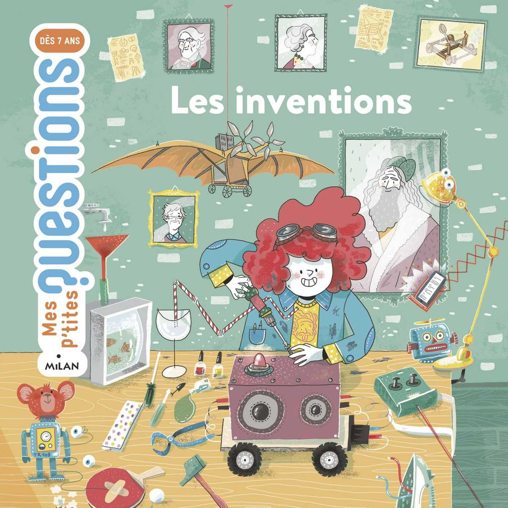 « Les inventions » cover