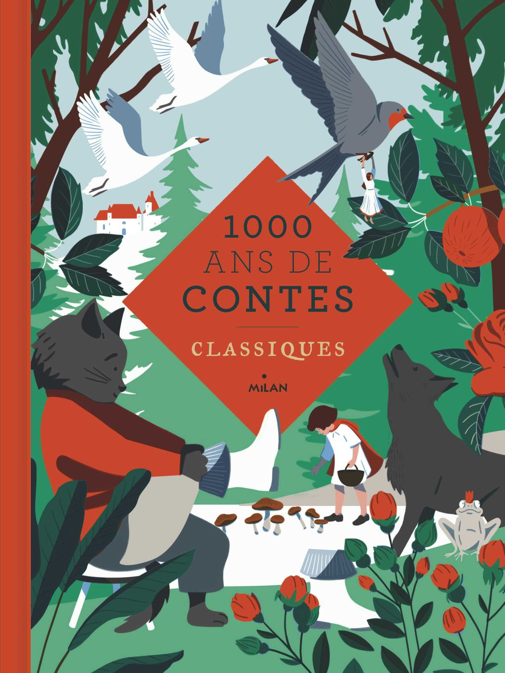 «Mille ans de contes classiques» cover