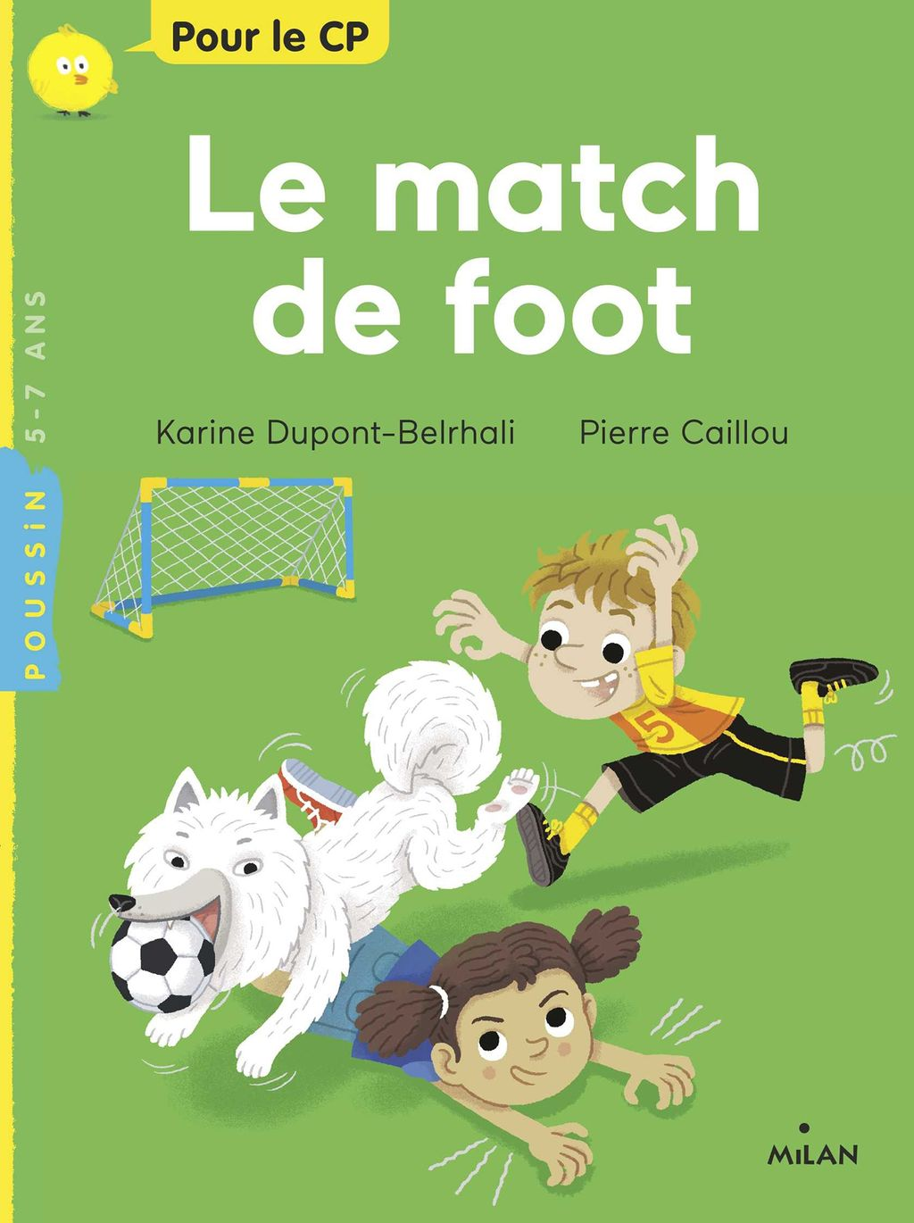 Couverture de « Le match de foot »