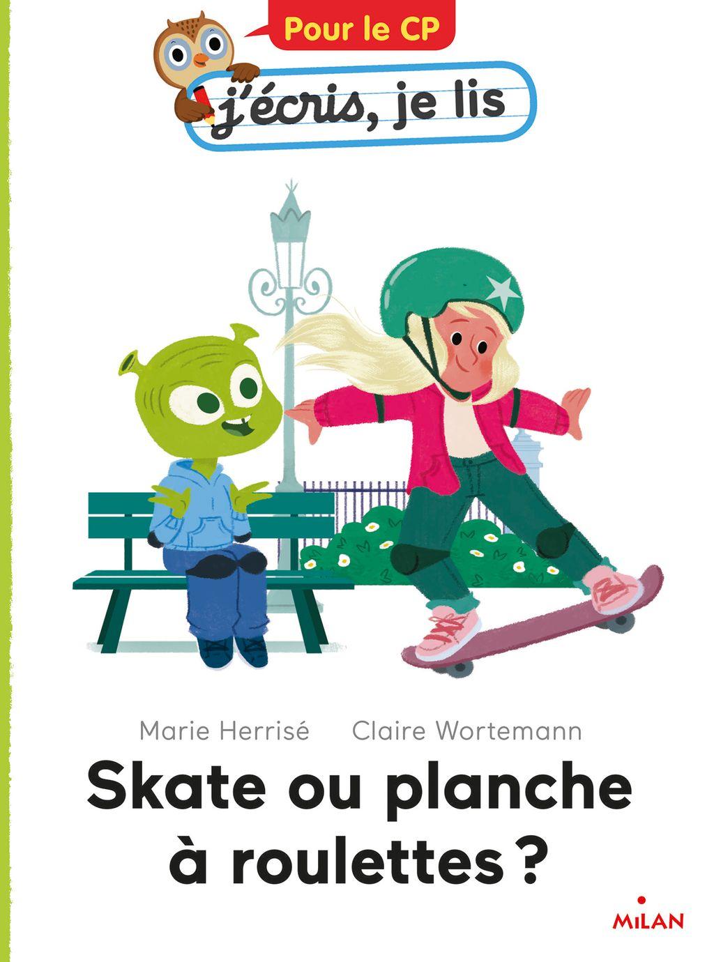 «Skate ou planche à roulettes ?» cover