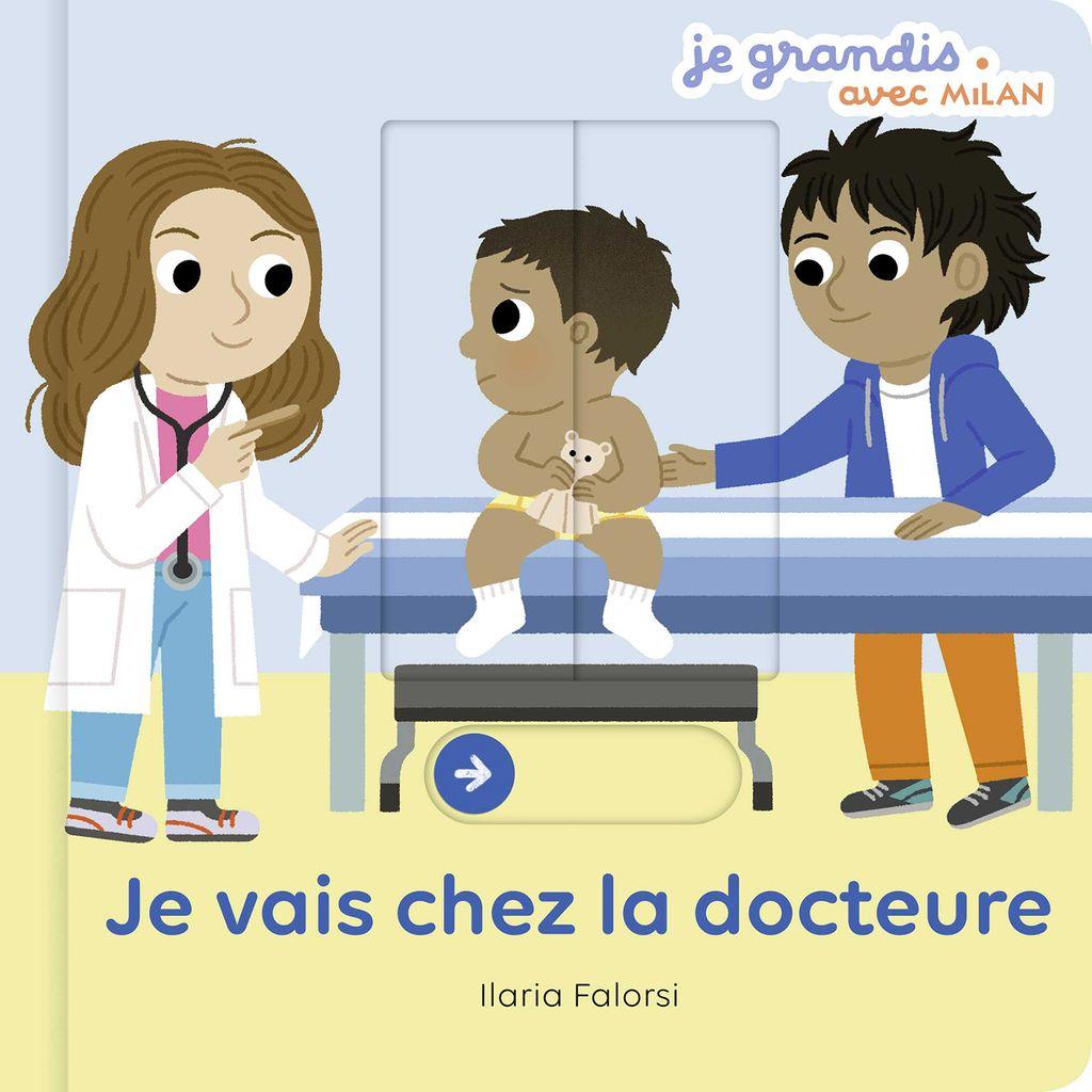 Couverture de «Je vais chez la docteure»